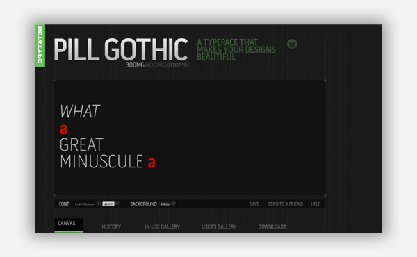 PILL GOTHIC